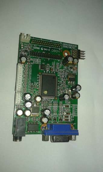 Placa Logica Monitor Soyo Mt-ni-dylm1596 G811ccn2e1c01