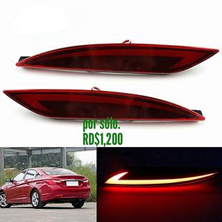 Reflector Luz Led Parachoque Traser De Hyundai Y20 2011-2013