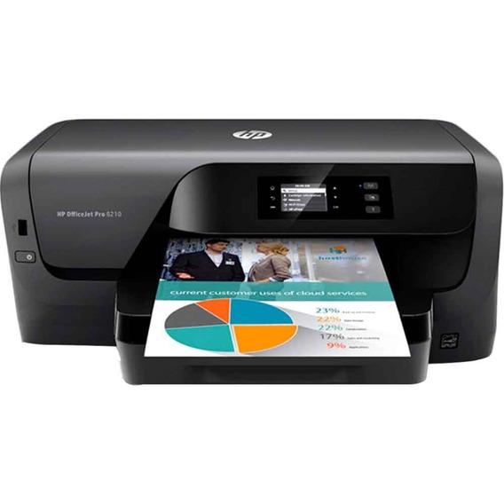 Impressora Jato De Tinta Color Wifi Officejet 8210 D9l63a Hp