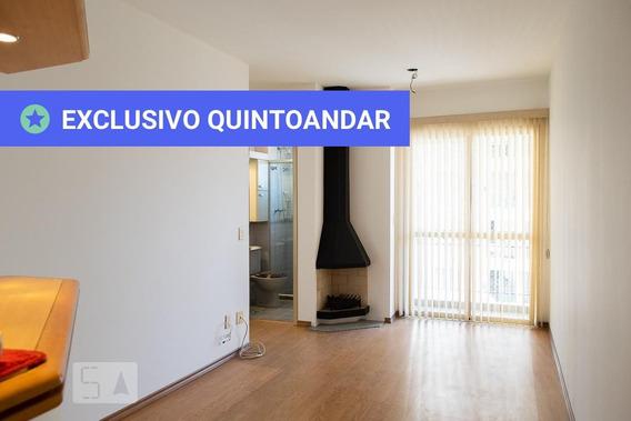 Apartamento No 17º Andar Com 2 Dormitórios E 1 Garagem - Id: 892945734 - 245734