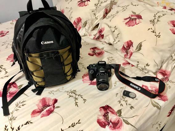 Combo Câmera Eos T6i Premium