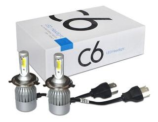Luz Led C6 Para Carro H4 36w/3800lm Con Garantía Somos Tiend