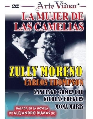 La Mujer De Las Camelias - Zully Moreno - Dvd Original