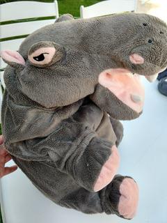 Peluche Hipopótamo 65 Cm. Importado. Muy Suave.