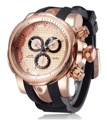 Relógio Masculino De Luxo Osuna Or1206 Original