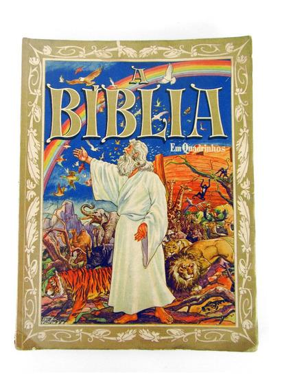 Livro Revista A Bíblia Em Quadrinhos Antigo Testamento 1953