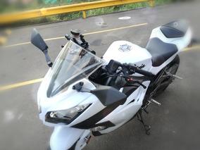 Ninja 300 2014 Blanca -reparación Motor