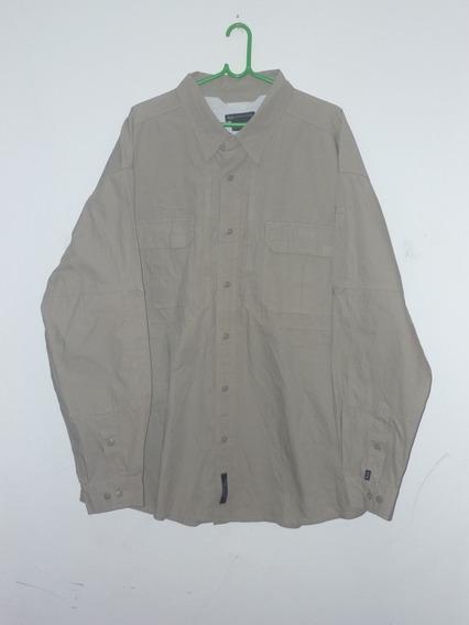 Espectacular!! Camisa M/l Orig. 5.11 Tactical- Khaki Xxl