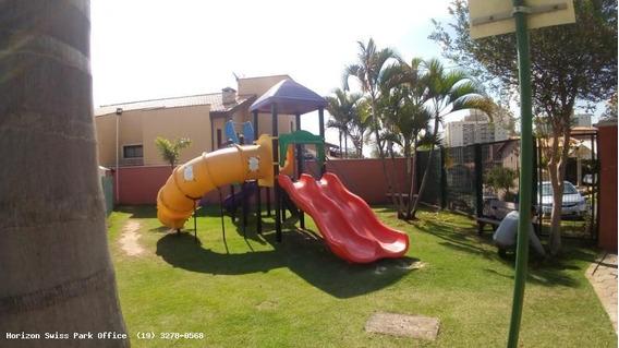 Casa Em Condomínio Para Venda Em Campinas, Vila Marieta, 3 Dormitórios, 1 Suíte, 3 Banheiros, 4 Vagas - Ca033