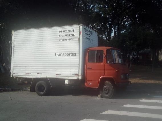Caminhão Mb 608d Ano 75 Diesel - Baú Grande