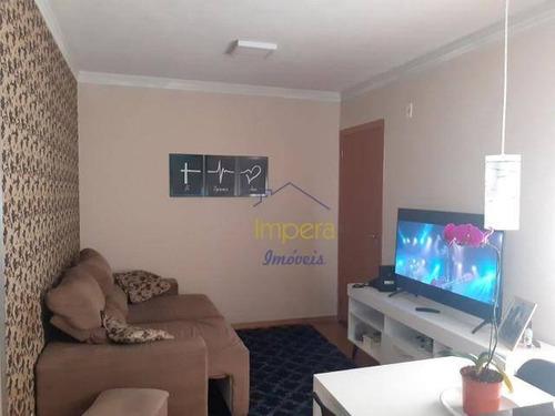 Apartamento Campo Di Madri Com 2 Dormitórios À Venda, 40 M² Por R$ 170.000 - Jardim Das Ceerejeiras - São José Dos Campos/sp - Ap0533