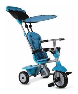 Triciclo 4 En 1 Smartrike Original Azul Y Rosa