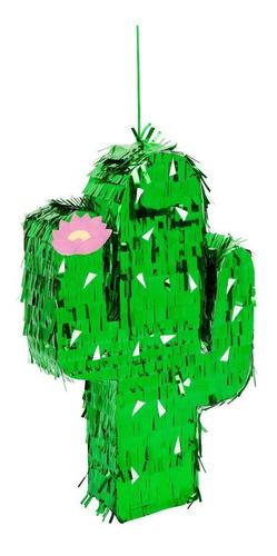 Imagen 1 de 4 de Mini Piñata Cactus Para Caramelos Y Decoración! Sunnylife