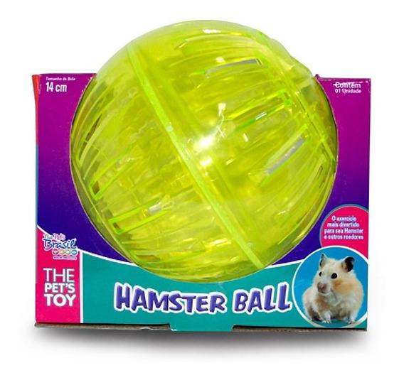 Bola Para Hamster De Exercício Roda Giratória 14cm