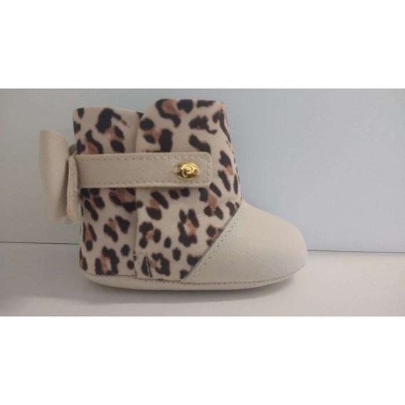 Bota Pampili 255016 - Bege - Delabela Calçados
