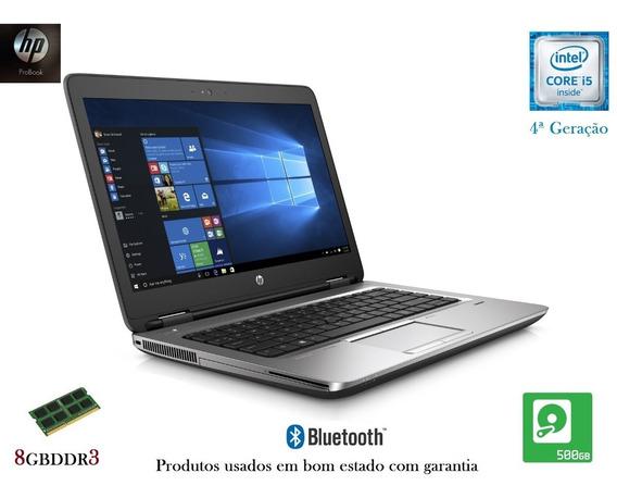 Ultrabook Hp Intel Core I5 8gb Hd - Em Promoção E Garantia.