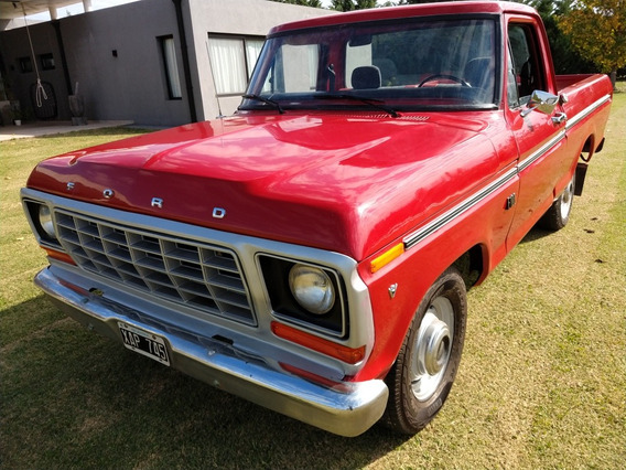 Ford F-100 F 100 V8 - Original Restaurada 100%