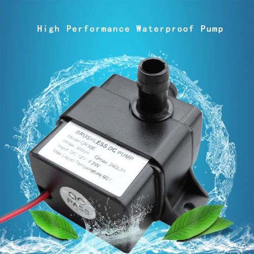 Mini Bomba De Agua Arduino Proyectos Pecera Fuente