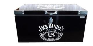 Caixa Térmica Jack Daniels 90 Litros Galvanizado