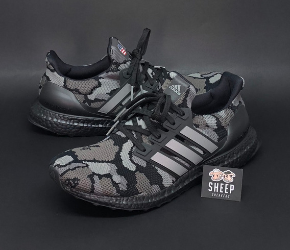 Tenis adidas Ultra Boost 4.0 X Bape Camo Black