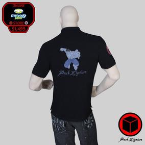 Playera Polo - Marvel Hulk Bordado 3d - Black Elysium