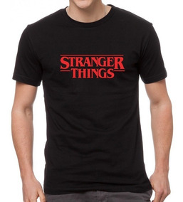 Camiseta Estampada Stranger Things
