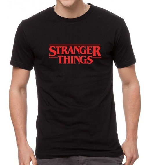 Camiseta Estampada Stranger Things
