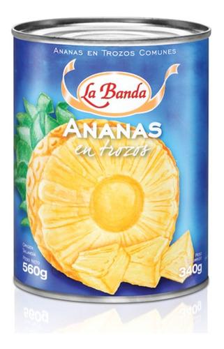 Lata Anana La Banda X 800 Gr - Enlatados Mayorista