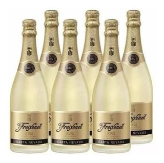 Pack C/ 6 Freixenet Carta Nevada Espumante 750ml Brut