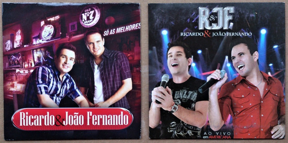 Cd Ricardo E João Fernando - Só As Melhores + Ao Vivo = 2cds