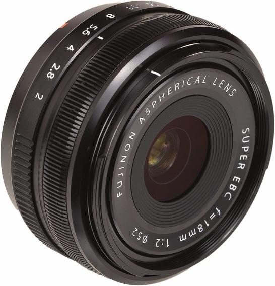 Lente Fuji Fujifilm Xf 18mm R F/2