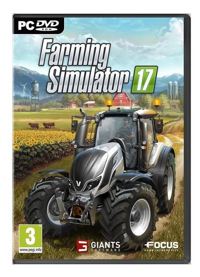 Farming Simulator 17 (mídia Física) + Mods Brasileiros