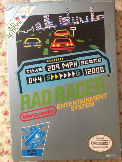 Cartucho Rad Tacer Nintendinho Nintendo Nes Original