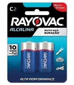 Bateria Pilha Alcalina Rayovac Media Kit C/12x2 Tipo C 20120