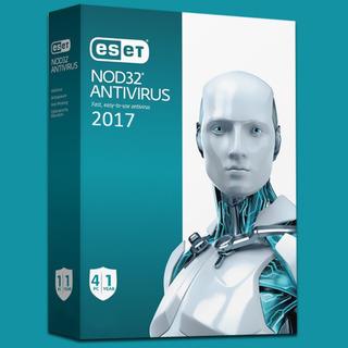 Licencia Antivirus Nod32 Edicion 2017 - 4 Pc - 1 Año