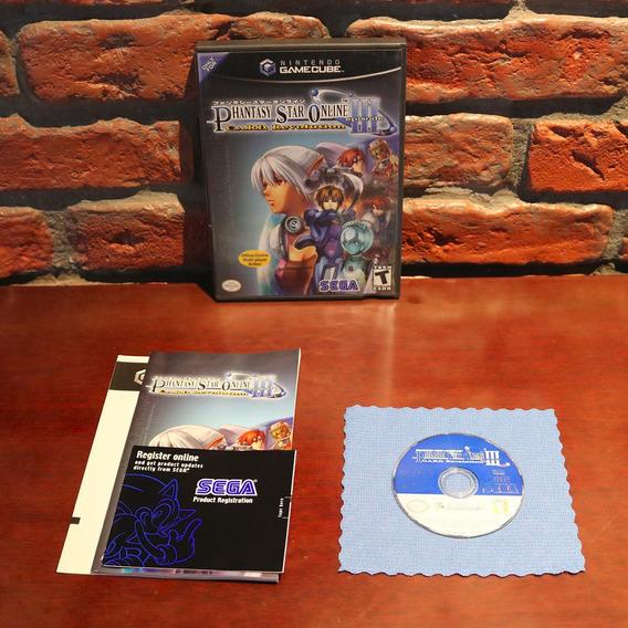 Phantasy Star Online Episode Iii 3 C.a.r.d Revolution Original Completo Gamecube