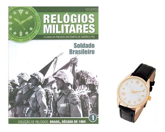 Relógio Militar Colecionável Soldado Brasileiro