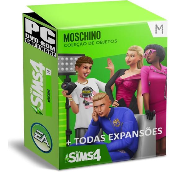 The Sims 4 Oficial Moschino + Reino Da Magia + Todas Expansões Atualizadas Português Brasil2019