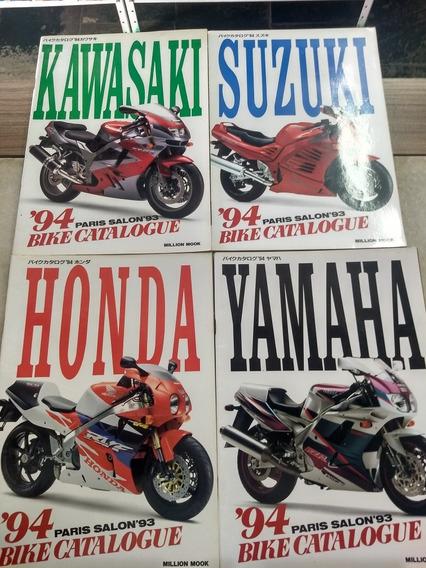 Catálogo 94 Bike Paris Salon Yamaha Honda Suzuki E Kawasaki