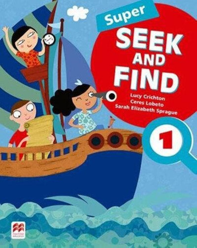 Super Seek And Find 1 - Student's Book And Digital Pack