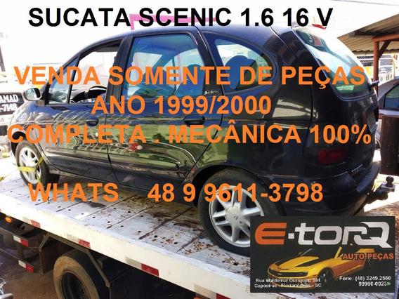 Sucata Renault Scenic 1.6 16v 99/2000 Manual Completa