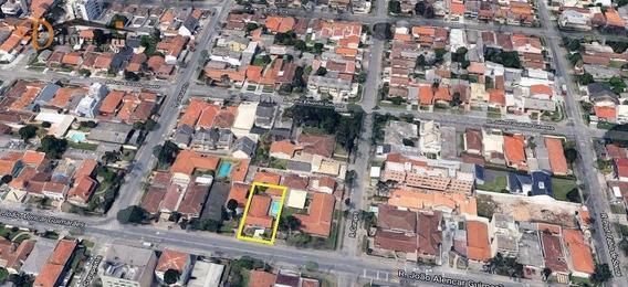 Terreno À Venda, 576 M² Por R$ 1.950.000 - Santa Quitéria - Curitiba/pr - Te0111