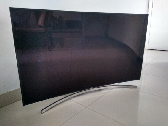 Tv Samsung Curva 48 Polegadas Com Tela Trincada