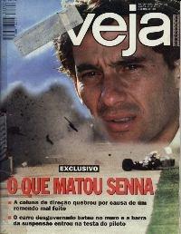 Cl Veja 1390 * 03/05/95 * Ayrton Senna