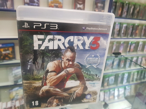 Farcry 3 Usado Original Ps3 Midia Física