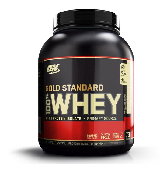 Proteina On 100% Whey Gold Standard 5 Lbs Sf W1