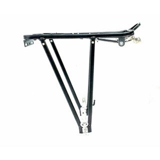 Porta Paquete Aluminio P/ Bici Con Freno V- Brake Plegable