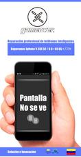 Iphone Blacklight, No Se Ve, Sin Luz De Fondo