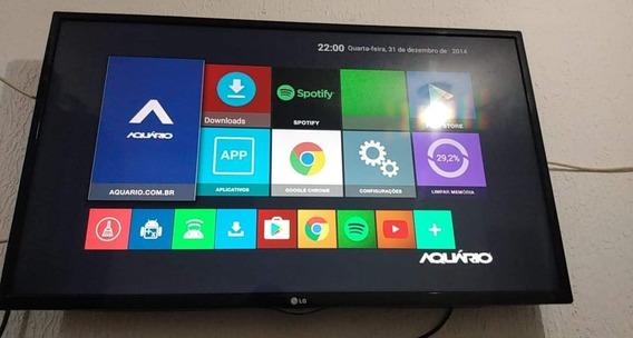 Tv Lg Led 42 Polegadas Acompanha Um Tv Box Para Transformar