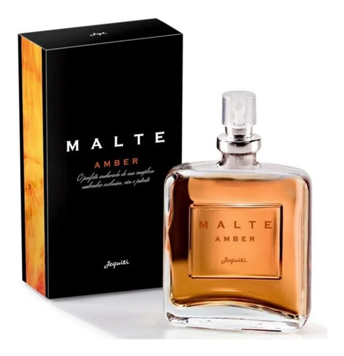 Deo Colônia Malte Amber 25ml - Jequiti
